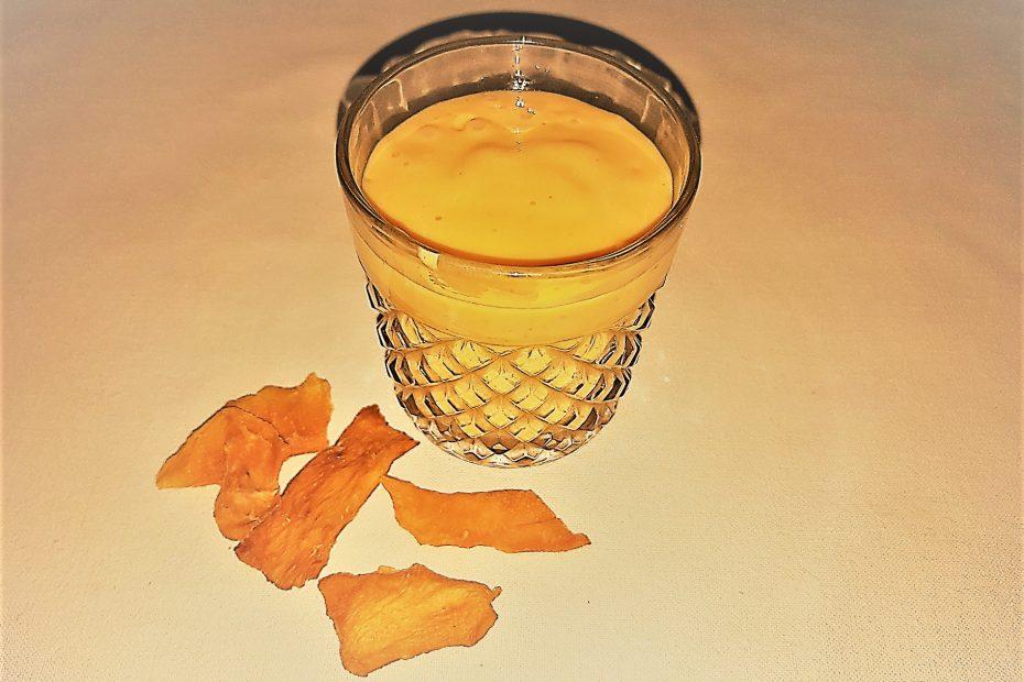 Džiovintų mangų glotnutis