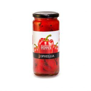 Raudonoji paprika kepta